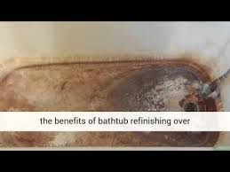 bathtub refinishing fiberglass tub buffalo ny youtube
