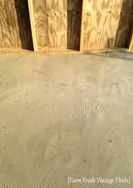 how to stain concrete part 2 farm fresh vintage finds