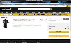 Fansedge Coupon Codes / Www.carrentals.com 25 Off Geekcore Promo Codes Top 2019 Coupons Promocodewatch Fansedge Coupon Code Coupon Code Coding Players Edge Sports I9 Competitors Revenue And Employees Www Fansedge Com Misguided Sale Etech Catalina Island Deals January 2018 Holiday World Coupons Promotional Oriental Trading Att Rewards Contact Number Lawson His Discount Voucher Lyft Pittsburgh Promo Big League Weekend Illinoisrealtor Org Good Food Wine Sir Pizza Rochester Mi