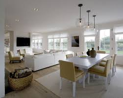 Small Open Floor Plan Kitchen Living Room Awesome Dining Designs