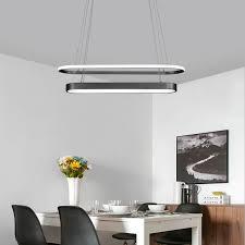 us 78 53 35 led kronleuchter für esszimmer küche home dekoration kronleuchter licht kreis schwarz gold restaurant cafe hängen
