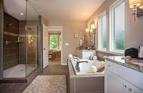 Drees Homes Floor Plans Dallas by Master Bath With Large Glass Super Shower And Tub The Sasha Floor