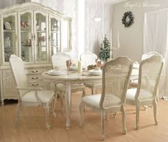 Country Chic Dining Room Ideas by Second Hand Shabby Chic Dining Table And Chairs Living Room Ideas