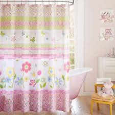 Bed Bath And Beyond Pink Sheer Curtains by Buy Girls Shower Curtain From Bed Bath U0026 Beyond