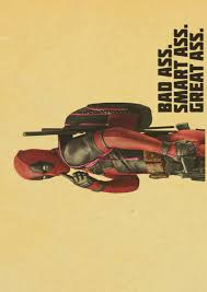 Vintage Superhero Wall Decor by Aliexpress Com Buy Vintage Marvel Superhero Deadpool Hd Movie