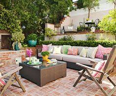 Patio World Fargo Hours by Small Square Backyard Landscaping Brick Patio Ideas