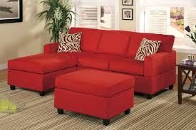 Poundex 3pc Sectional Sofa Set by Minimalist Living Room With Poundex Red Microfiber 3 Piece
