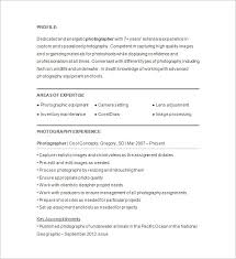 Best Solutions Of Freelance Photographer Resume Sample About Format Layout