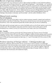 100 Trucking Deregulation Cabotagestudien A Study On Trucking Deregulation And