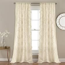 Lush Decor Window Curtains by Ruffle Diamond Window Curtain Set Lush Decor Www Lushdecor Com