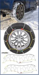 100 Snow Chains For Trucks Titan Chain Alloy Tire Diamond Pattern Square Link