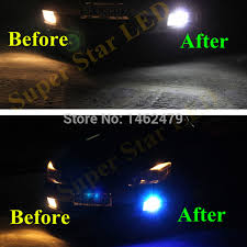shop 2 x h11 white for cree chips projector car led fog