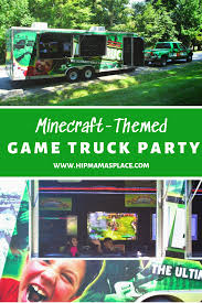 99 Game Truck Party MinecraftThemed Boy Birthday