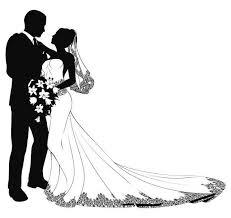 Couple Clipart Wedding Reception 4