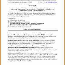 Retail Sales Associate Resume Objective Examples 2017 Clerk Cash Office Image Striking Inventory Cover Letter Sample Good For Clerke Leg