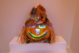 Fiber Optic Pumpkin Head Scarecrow by Fiber Optic Scarecrow Head Pictures To Pin On Pinterest Pinsdaddy