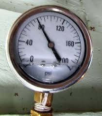 What is the maximum and minimum water pressure allowed per the UPC