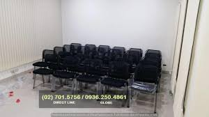 Visitor Mesh Chair ( 4 Legged ) Fabric Seat