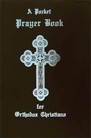 Pocket Prayer Book For Orthodox Christians With A Black Vinyl