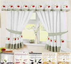 Best White Country Kitchen Curtain Ideas