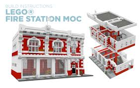 BrickToyCo: Custom LEGO® Fire Station MOC Instructions Images Of Lego Itructions City Spacehero Set 6478 Fire Truck Vintage Pinterest Legos Stickers And To Build A Fdny Etsy Lego Engine 6486 Rescue For 63581 Snorkel Squad Bricksargzcom Mega Bloks Toy Adventure Force 149 Piece Playset Review 60132 Service Station Spin Master Paw Patrol On A Roll Marshall Garbage Truck Classic Legocom Us 6480 Light Sound Hook Ladder Parts Inventory 48 60107 Sets