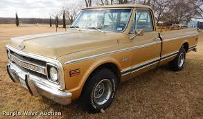 100 Chevy Truck 1970 Chevrolet C10 Pickup Truck Item DK9910 SOLD March