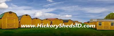 Wood Sheds Idaho Falls by Old Hickory Sheds Idaho Buildings Barns Cabins Garage Storage Id