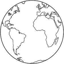 Earth Coloring Pages Tryonshorts Pictures