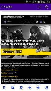 siege test rainbow 6 siege technical test november 6 7th xbox one pc