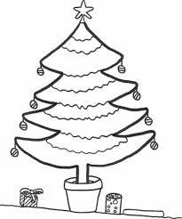 Christmas Tree Coloring Pages Book 37