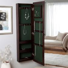 Axondirect Wall Mounted Locking Jewelry Armoire Cabinet In ... Belham Living Swivel Cheval Mirror Jewelry Armoire Hayneedle Lighted Wall Mount Locking Cherry Mounted Mirrored Driftwood Decorating With And Lock For Double Door Quatrefoil High Gloss Kohls Box Amazoncom Wallmounted Wooden 145w X Southern Enterprises 4814 In 1412 2018 Cabinet Organizer