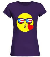 Emoji Puerto Rico T Shirt Rican Flag Sunglasses Funny Cricket Shirtaustralia Shirtpakistan Shirtindian Shirtin