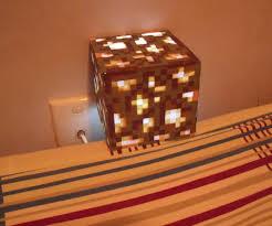 Minecraft Redstone Glowstone Lamp by Diy Glowstone Lamp 5 Steps