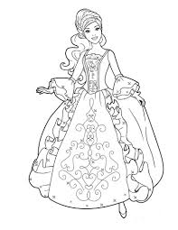 Barbie Paginas Para Colorear De Barbie En La Princesa Y La Estrella