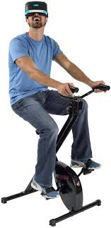 Lovely VirZOOM Virtual Reality Exercise Bike And Games - Chalks.com
