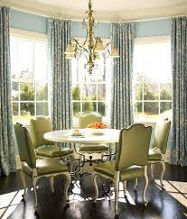 Window Curtains For Dining Room Bay And Treatments