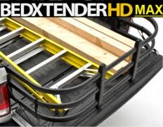 bed x tender flipping truck bed extender by amp research for chevy