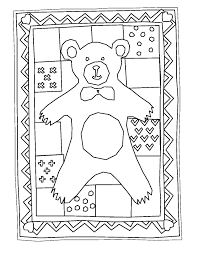 Quilt Coloring Pages And
