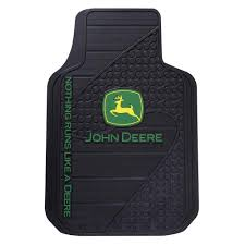 Plasticolor John Deere Heavy Duty Vinyl 31 In. X 18 In. Floor Mat ...