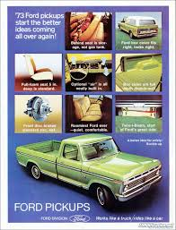 1973 Ford Truck Advertisement Looks Identical To My 74 Ford F100 ... 1973 Ford Truck Model Econoline E 100 200 300 Brochure F250 Six Cylinder Crown Suspension F100 Ranger Xlt 3 Front 6 Rear Lowering 31979 Wiring Diagrams Schematics Fordificationnet F 250 Headlight Diagram Wire Data Schema Vehicles Specialty Sales Classics Horn Lowered Hauler Heaven Pinterest 7379 Oem Tailgate Shellbrongraveyardcom Pickup 350 Steering Column Enthusiast