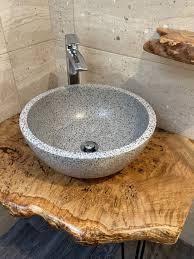 holz badezimmer becken countertop spüle regal