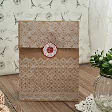 Discount Vintage Lace Wedding Favors Paper Bags With Seals EWFB087