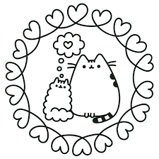 Pusheen Coloring Pages New Best For Kids