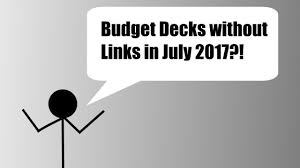 decks july 2017 yu gi oh budget decks 30 less my top 5 july 2017 link format