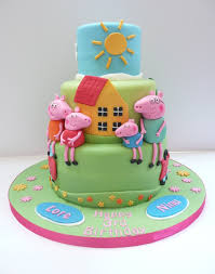Peppa Pig Birthday Cake for Lovely Kids Awesome Birthday