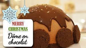 recette de dessert pour noel le dôme au chocolat fondant recette dessert noël