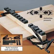 4 Way Pressure Clamping System