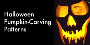 Easy Pumpkin Trace Patterns by Not Another List Of Free Halloween Pumpkin Carving Patterns