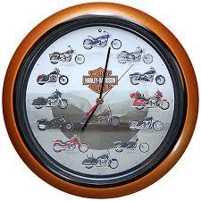 Harley Davidson Clock With Engine Sound 2008 Version