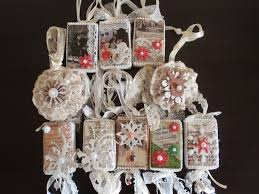 Christmas Tree Decorations Ideas Youtube by Christmas Ornaments With Vintage Images So Shabby Chic Tutorial